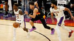 НБА. 34 очка Букера помогли Финиксу обыграть Лейкерс, поражение Юты