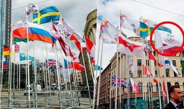 Великий скандал. У Ризі на ЧС з хокею зняли прапори Росії та Білорусі