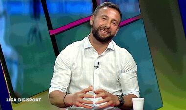 Рац в эфире румынского ТВ поздравил Шахтер с юбилеем на русском языке