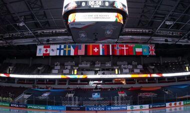 ІІХФ зажадала повернути прапор Білорусі. У Ризі прибрали прапори самої ІІХФ