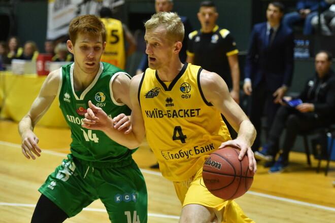 Киев-Баскет разгромил Запорожье в первом полуфинальном матче