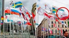 Большой скандал. В Риге на ЧМ по хоккею сняли флаги России и Беларуси