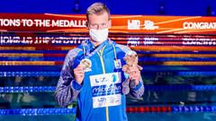 Медальный зачет. Украина заняла 4-е место на ЧЕ по водным видам спорта