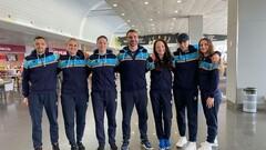 Женская сборная Украины отправилась на отборочный турнир на Олимпиаду