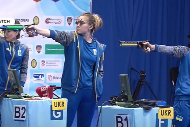Женская сборная Украины завоевала золотые награды на чемпионате Европы