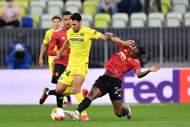 Вильярреал – Манчестер Юнайтед – 1:1 (пен 11:10). Видео голов и обзор матча