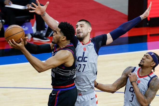 НБА. Лень набрав 6+5 у другій грі плей-оф, Вашингтон поступився Філадельфії