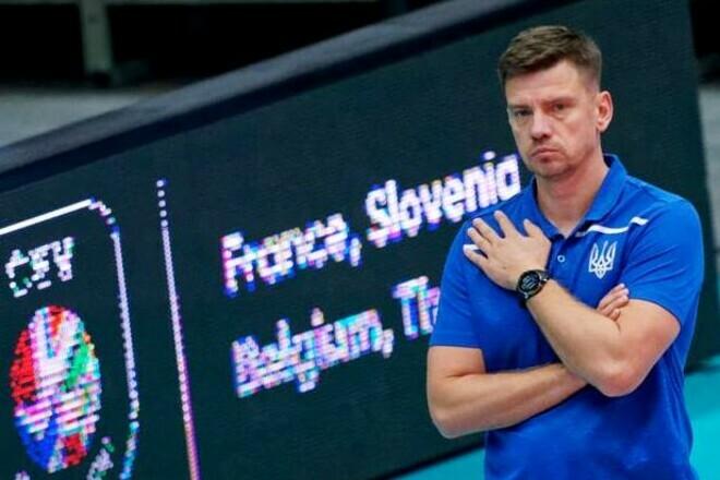 Евро-2021. Сборная Украины по волейболу узнала соперников в группе