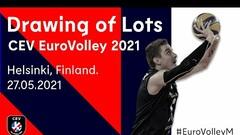 Жеребьевка ЧЕ-2021 по волейболу. Смотреть онлайн. LIVE трансляция