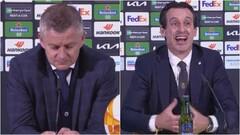 ВИДЕО. Реакция Сульшера и Эмери на итоги финала Лиги Европы