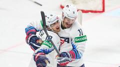 ЧМ по хоккею. Швейцария забросила 8 шайб, победа США