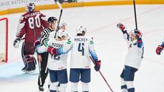 ЧМ по хоккею. Обзор матчей Швейцария - Словакия и США - Латвия