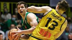 Киев-Баскет проиграл Запорожью во втором матче полуфинала, счет сравнялся
