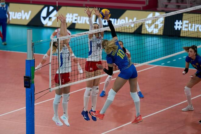 Женская сборная Украины стартовала в Золотой Евролиге с волевой победы