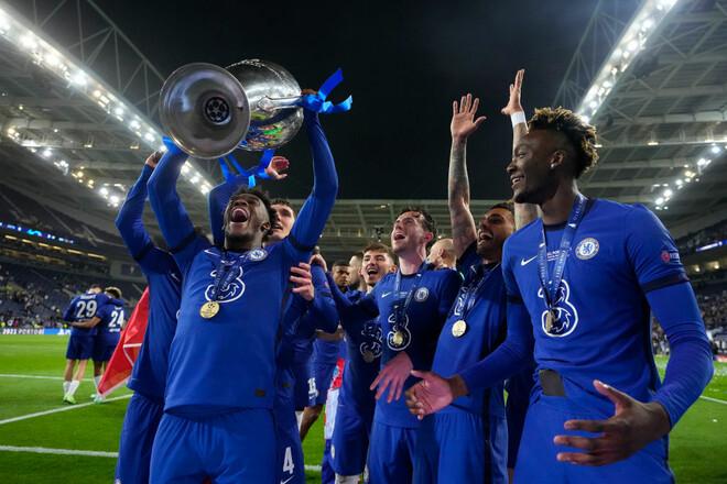 ФОТО. Порту стал синим. Как Челси выигрывал Лигу чемпионов