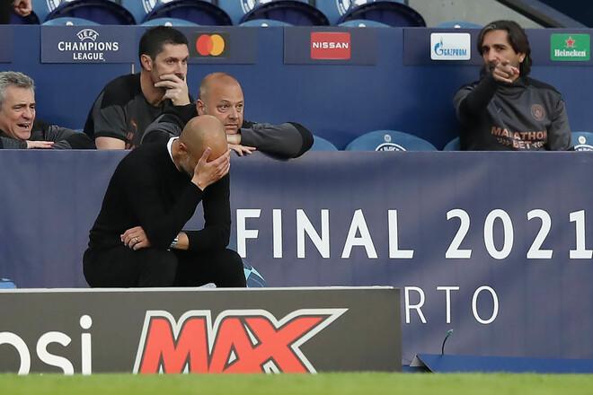 ВИДЕО. Реакция Гвардиолы на поражение в финале Лиги чемпионов
