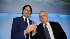 ФОТО. Ссора президента Лацио с Симоне Индзаги