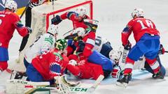 ЧМ по хоккею. США и Россия выиграли и вышли в лидеры своих групп
