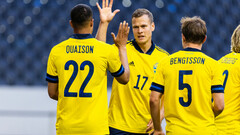 Не хватает Златана. Швеция обыграла Финляндию в дружеском матче перед Евро
