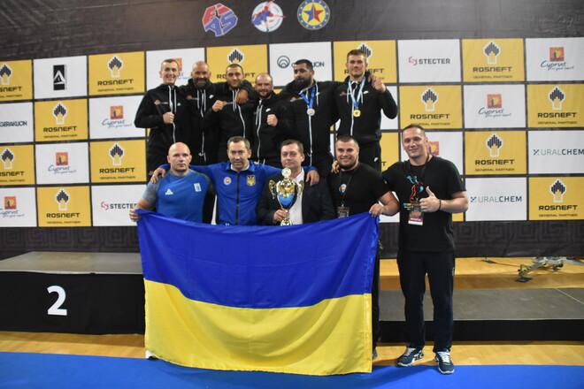 Сборная Украины по самбо завоевала на чемпионате Европы 14 медалей