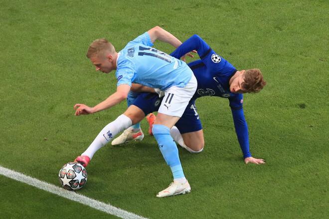 Дмитрий СЕЛЮК: «Челси повезло, что за Манчестер Сити играл Зинченко»