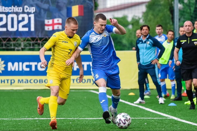 Украина разгромила Румынию и выиграла Кубок Кличко 2021