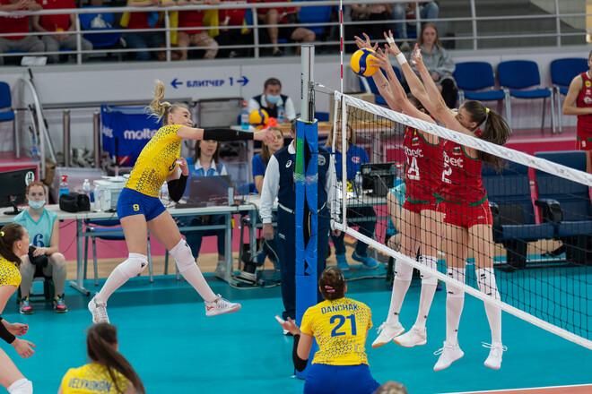 С фаворитом не справились. Украинки проиграли Болгарии в Золотой Евролиге