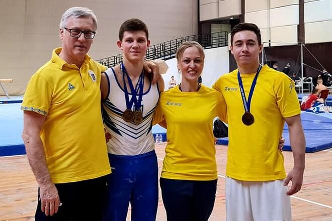 Ковтун выиграл брусья. У Украины еще 3 медали этапа Кубка мирового вызова