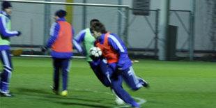 Фотоотчет с открытой тренировки Динамо
