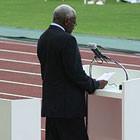 В Киев прилетел президент IAAF Ламин Диак