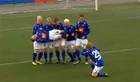 ВИДЕО ДНЯ: Исландцы продолжают праздновать