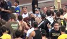Фанаты АЕКа избили главного тренера +ВИДЕО