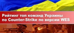 Рейтинг топ команд Украины по Counter-Strike за 2010 год