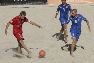 Европейская Лига пляжного футбола. Суперфинал. День первый