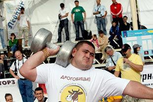 Олександр Лашин – найсильніша людина України!