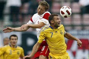 Польша - Украина - 1:1