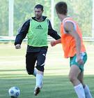 Рыкун тренируется с Ворсклой