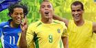 ТОП-10 бразильских футболистов всех времен +ВИДЕО