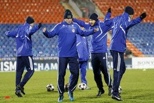 Динамовцы возобновляют тренировки