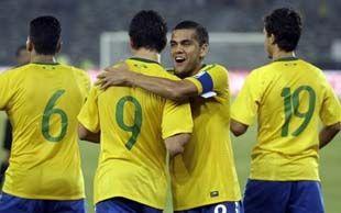 Бразилия - Украина - 2:0