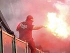 Сербские и итальянские фанаты подрались у выхода со стадиона