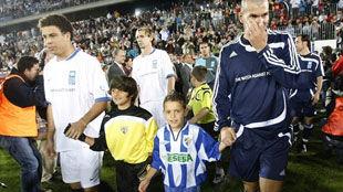 Зидан и Роналдо организовали благотворительный матч
