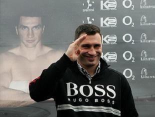 Виталий Кличко - боксер года в Германии