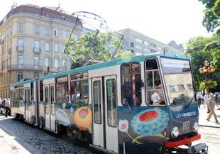 В Евро-2012 на скоростном трамвае