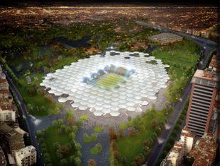 «Лоскутный» стадион в Бурсе