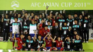 Южная Корея - бронзовый призер Кубка Азии