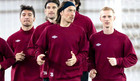 Рубин провел первую тренировку в Казани