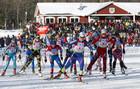 Ханты-Мансийск. Норвежцы выигрывают смешанную эстафету