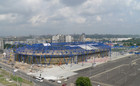 Дороги около стадиона Металлист скоро реконструируют
