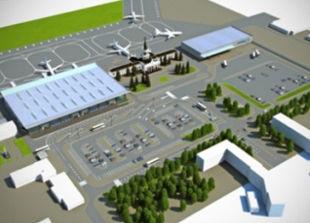В Харькове уже готов каркас третьего терминала